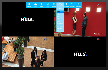 Hills on board software