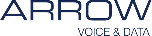 Arrow Voice & Data Retina Logo
