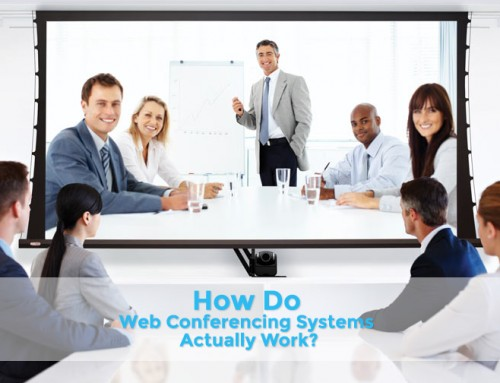 How do web conferencing systems actually work?