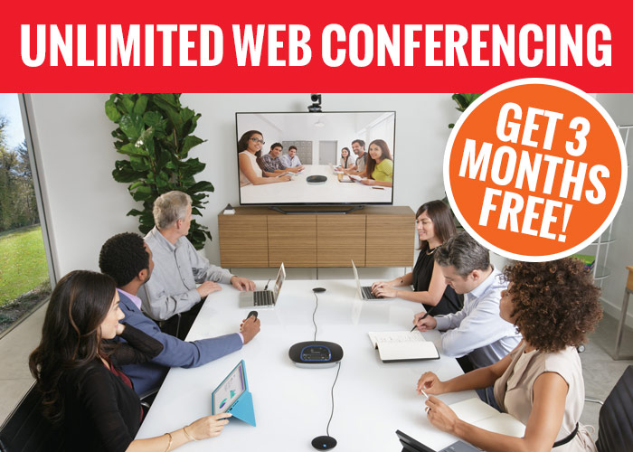 Unlimited Web Conferencing Offer