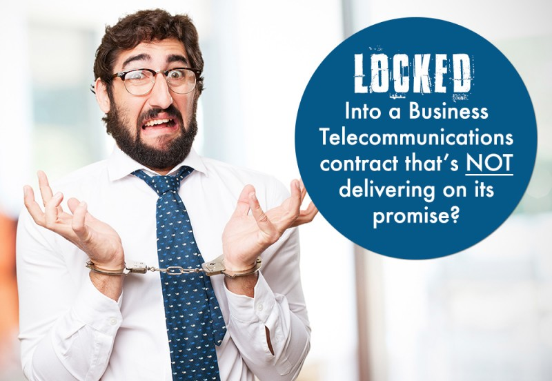 Locked in to a telecommunications contract