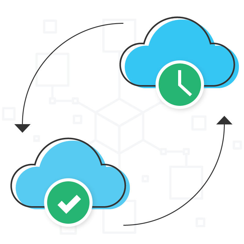 Cloud Backup Diagram