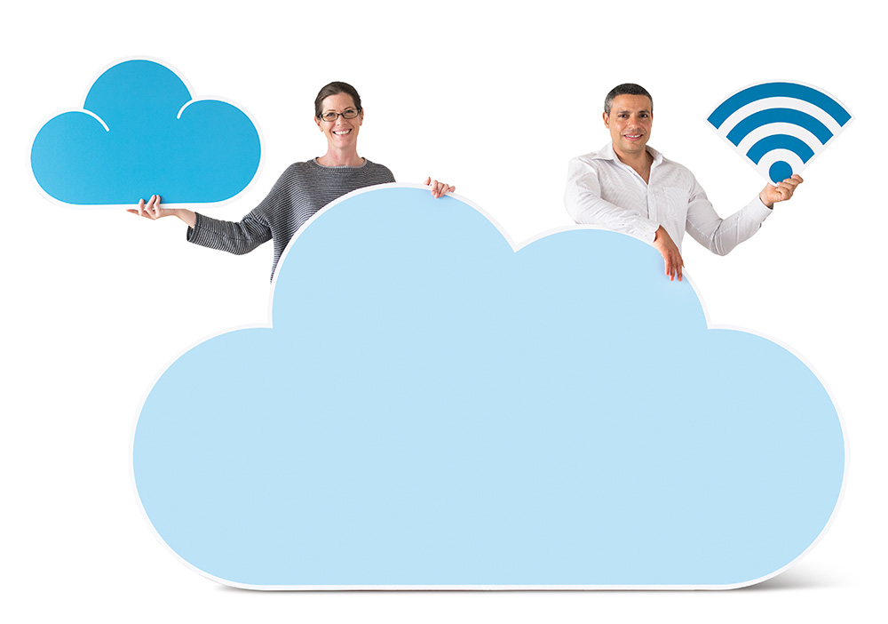Migrate to cloud communications concept