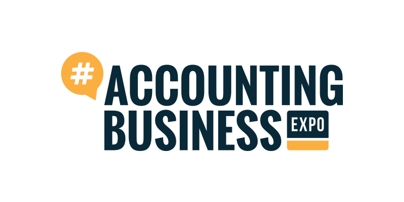 Accounting business expo logo