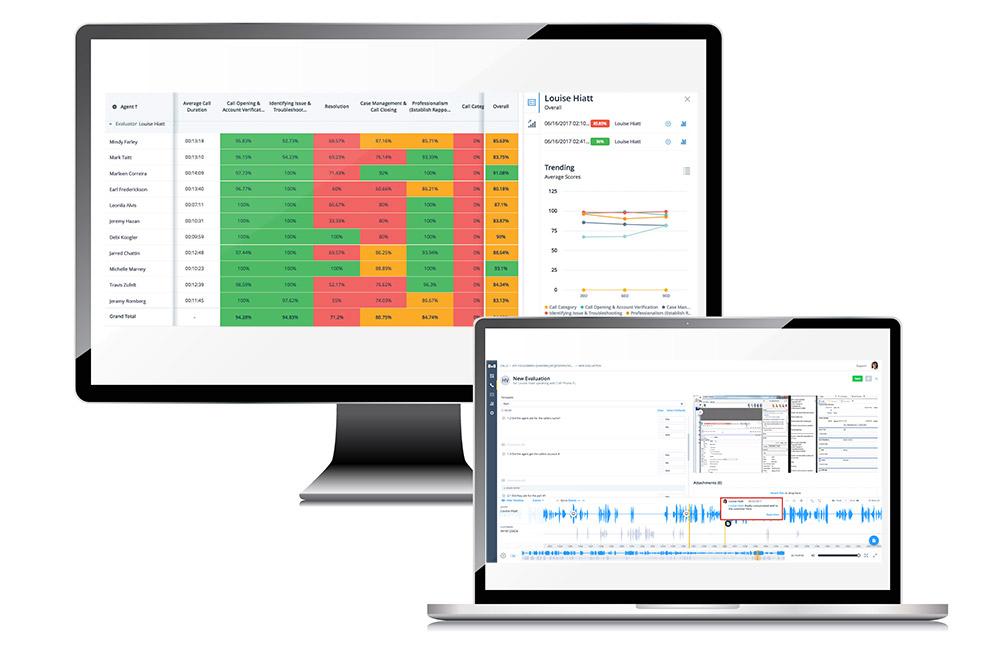 Workforce management screens