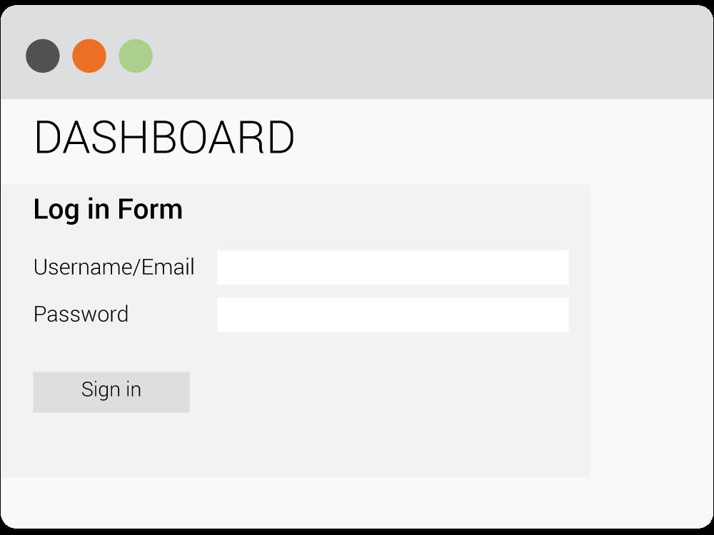 Secure Fax dashboard